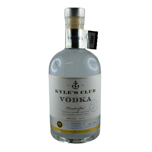 Kyles Club Vodka, 0,7 l, 40% vol.
